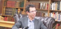אסף גברון בראיון בחנות סטרנד בניו יורק לרגל צאת התרגום האנגלי של ספרו