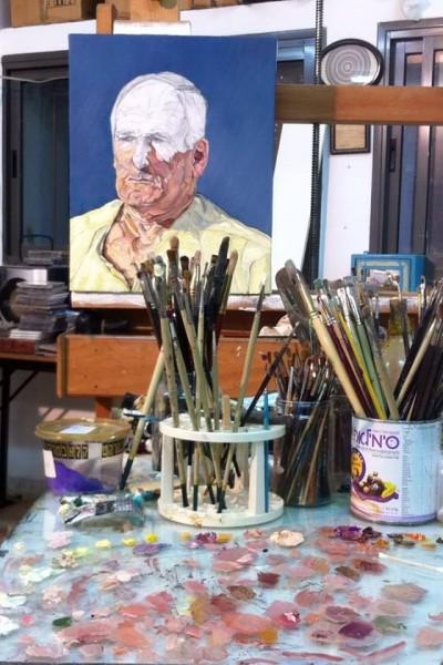 """אסף רומאנו: כשלמדתי בבצלאל היה באז גדול סביב """"מות הציור"""". זה היה ביטוי למצוקה של חיים בצל המודרניזם: לאן הולכים אחרי הלבן על לבן של מאלביץ׳?"""