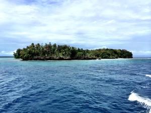 האי קבקון באוקיינוס השקט